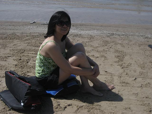 capri at beach