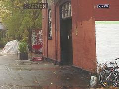 La Maison Smedien house /  Christiania - Copenhague / Copenhagen.  26 octobre 2008.