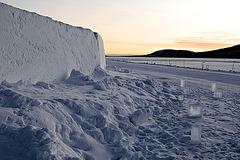 Icehotel - Torne river