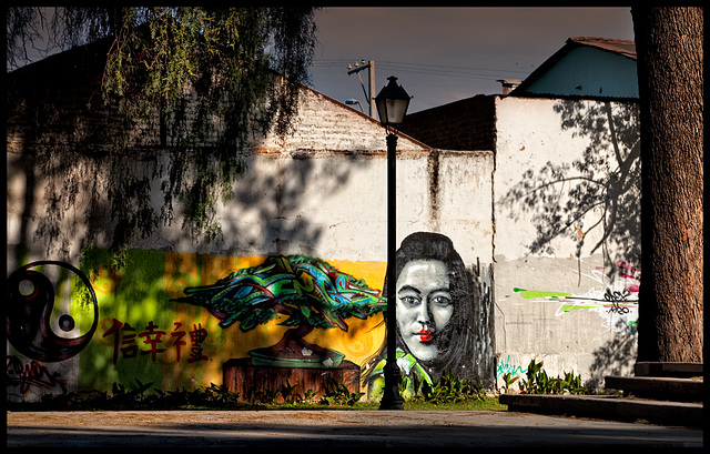 melancholic graffiti