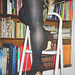 Lady Roxy avec / with permission - Lecture en talons hauts / Reading in high heels