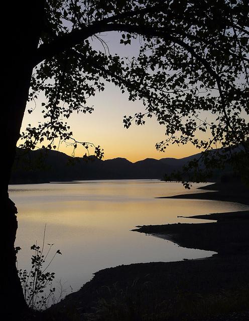 Un soir le lac.