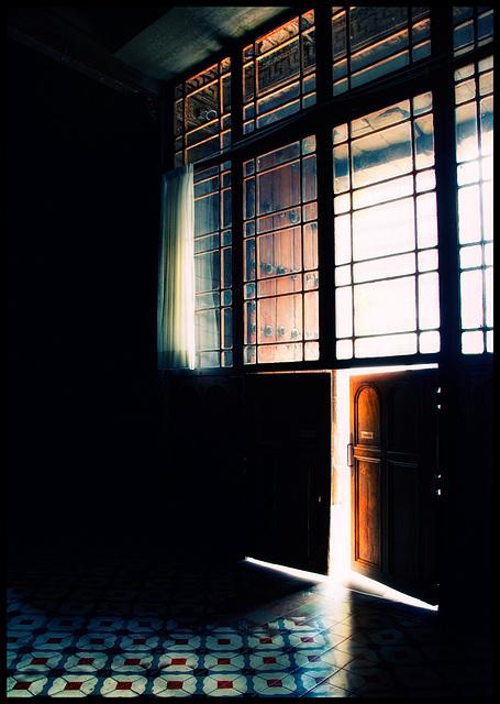 light outside....