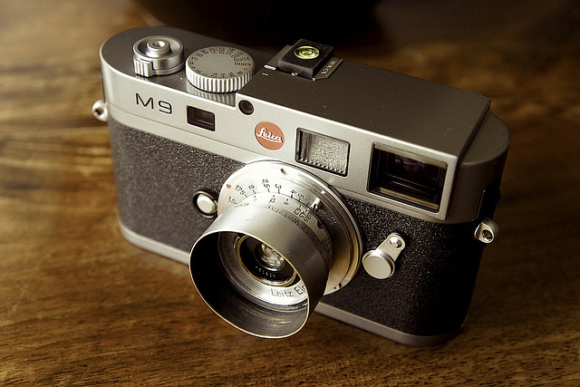Leca M9 & Elmar SM 3.5cm f 3.5 1936