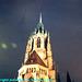 Kathedral Pfarrampt St. Paul at Night, Edited Version, Munchen (Munich), Bayern, Germany, 2010