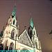 Kathedral Pfarrampt St. Paul at Night, Picture 2 Edit, Munchen (Munich), Bayern, Germany, 2010