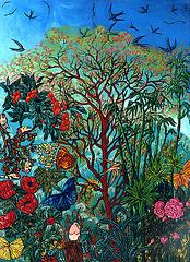 L'arbre de vie (81x60 )Une de mes acryliques sur toile