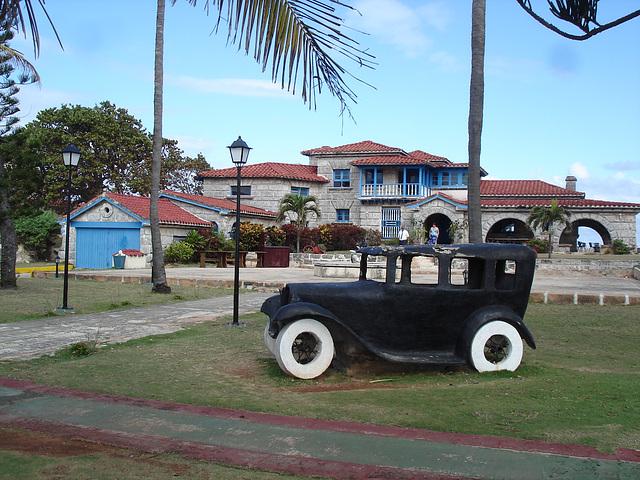 Casa de Al /  La maison de Al Capone / Al Capone's house - Varadero, CUBA.  3 février 2010.