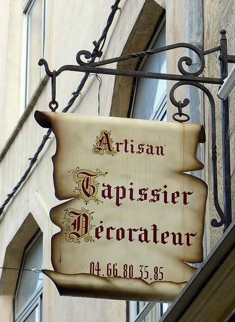 Artisan tapissier décorateur