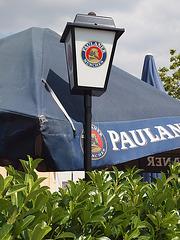 Paulaner-Reklame