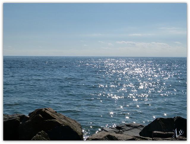 ** Grand bleu sur l'océan **