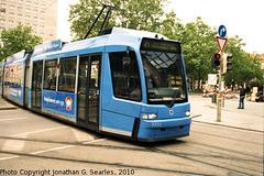 MVG #2211, Munchen (Munich), Bayern, Germany, 2010