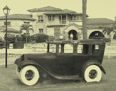 Casa de Al /  La maison de Al Capone / Al Capone's house / Photo ancienne