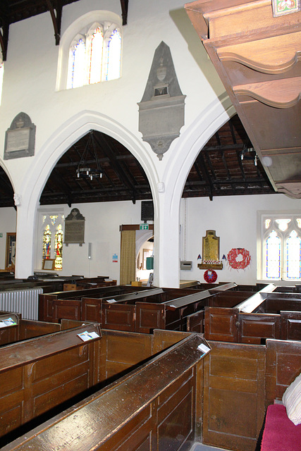 Box Pews, All Saints' Church, Nafferton, East Riding of Yorkshire