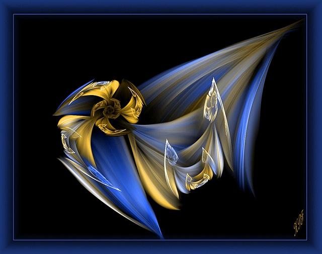 """Etoile bleue"" d'Anny Ayraud"