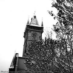 Stare Radnice in the Snow, Prague, CZ, 2010