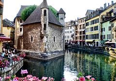 Das alte Gefängnis von Annecy