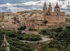 The City of Mellieħa on Malta