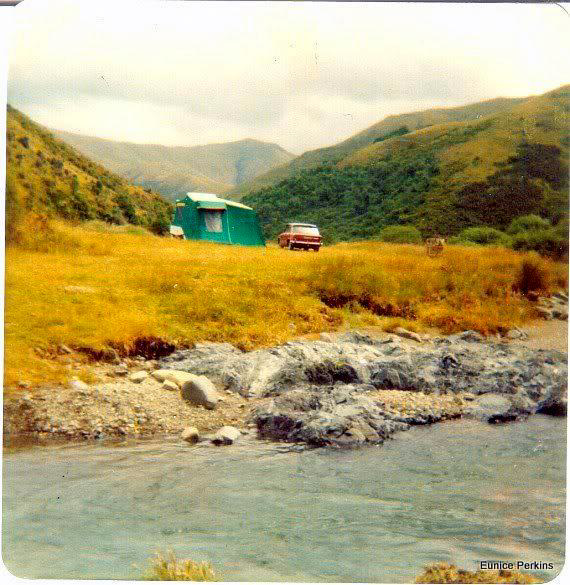 Te Moana Gorge  lower end