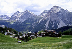 Blick auf Arosa (Schweiz)