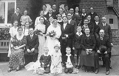 Hochzeit in Steinbergen 1936