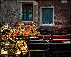 golden horses....