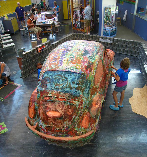 Paint-A-VW at Children's Discovery Museum (5973)