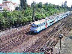 "CD 451 Class ""Pantograph"" in Hostivar Yard, Hostivar, Prague, CZ, 2010"
