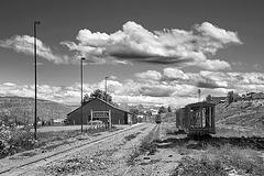 Esquel railway station