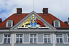 Wappen am Commandantenhaus