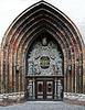 Westportal der St. Nikolaikirche