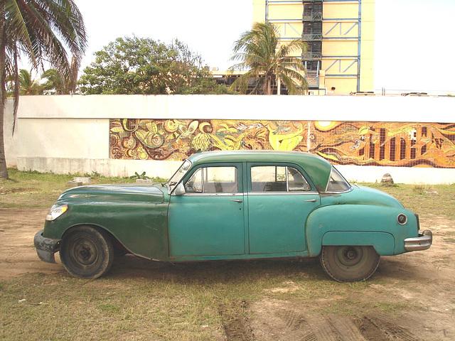 Varadero, CUBA . 3 février 2010.  Originale éclaircie