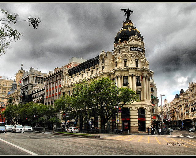 Madrid Edificio Metrópolis