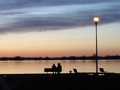 Coucher de soleil / Sunset   - Ville de Lery, Québec. CANADA - 25-04-2010