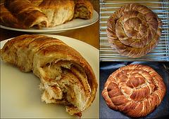 Noon Rogani (an Azerbaijani spiral bread)