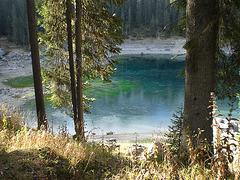 Karersee in den Dolomiten