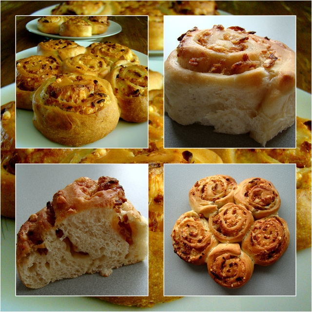 Cheese and Onion Swirls