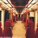 M1 Metro Train Interior, Picture 2, Prague, CZ, 2010