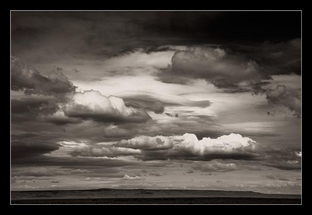 Patagonian flatness