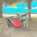 Photofiltration de moto cubaine avec side-car