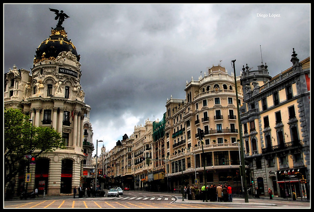 Madrid Gran Via 100 Aniversario