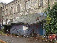 Le bâtiment Deck  /  The Deck building - Christiania / Copenhague - Copenhagen.  26 octobre 2008