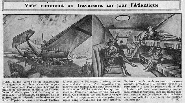 la aviadilegoj estontaj antaŭviditaj en 1928