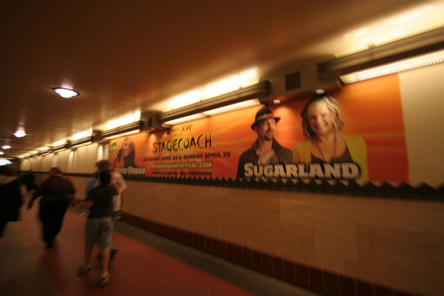 Old Stagecoch Ad - Los Angeles Union Station (7017)
