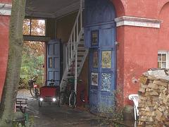 Den Kosmiske house / La maison Kosmiske - Christiania / Copenhague - Copenhagen.  26 octobre 2008.
