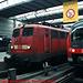 DB #115154-7 and 440524-7 in Munchen Hbf, Munchen (Munich), Bayern, Germany, 2010