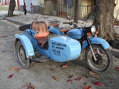 Vestige bleu à saveur cubaine
