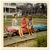 Girls with Amusement Park Cars, 1967