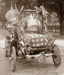 Stars-and-Stripes Parade Car, Pennsylvania, 1907