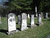 Old Burt cemetery / Cimetière Old Burt